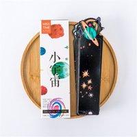 kırtasiye kağıdı tutacağı toptan satış-30 adet Gezegen Imi Sevimli Kırtasiye Mesaj Kartı Yaratıcı Gökyüzü Imi Kağıt Bölücüler Kitap Sayfa Tutucu Okul Ofis Malzemeleri