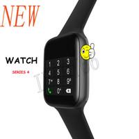 goophone android ips al por mayor-W34 reloj inteligente 44mm 1.54 HD IPS frecuencia cardíaca llamada Bluetooth reloj de música para reloj con micrófono 4 x Android Pk dz09 gt08 reloj inteligente de Samsung