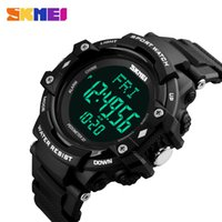 Wholesale skmei watch branded for sale - Group buy SKMEI Luxury Brand Men D Pedometer HeartRate Monitor Calories Digital Display Watch Outdoor Sports Watches Relogio Masculino