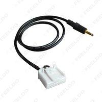 corolla audio großhandel-Großhandel 20PIN Auto AUX IN Audio Kabel 3,5 mm CD-Player Adapterkabel für Toyota Camry / Corolla / Reiz / RAV4 / Highlander # 3231