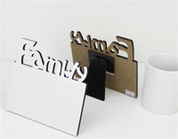 espaços em branco do quadro de fotos venda por atacado-Sublimação Blanks imagem Frames em branco da foto de família Framely DIY Pattern presentes Anúncio Escritório resistente ao desgaste 7 1bd UU