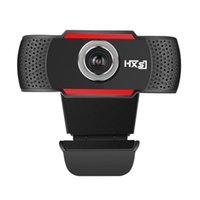 güvenlik hdd toptan satış-Yeni 720 P / 1080 P HD Webcam Kamera Dahili 10 m Webcast Ev Güvenlik için Kayıt Ses emici Micphone Video Kayıt