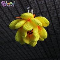 inflável flor decorações venda por atacado-Frete grátis 1.5 metros inflável flor de lótus / inflável levou flor / inflável decoração da flor-brinquedos infláveis