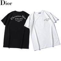 boutique en toile à imprimé 3d achat en gros de-Mens Designer T Shirt Lettres De Luxe Tees Lâche Casual Imprimer col rond manches courtes Top Vendre Mode Mens T Shirt Taille S-2XL.B43