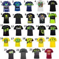 yamaha road al por mayor-VR46 MOTO GP MTB Bike Clothing Ciclismo Series Manga corta Top Downhill Racing Motocicleta Motocross Off-road Fox TLD camiseta yamaha
