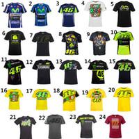 Wholesale fox cycling resale online - VR46 MOTO GP MTB Bike Clothing Cycling Series Jerseys short Sleeve Top Downhill Racing Motorcycle Motocross Off road Fox TLD T shirt yamaha