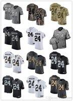 camisetas de rugby de las mujeres al por mayor-NCAA 2019 personalizado cualquier número numa mejor camiseta de rugby #Oakland Raider # 24 Charles Woodson Dolphin hombres / MUJERES / JÓVENES FÚTBOL camisetas s-xxxxl