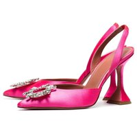 einzelne kristalle großhandel-Einzelne Goblet Heel Gladiator Sandalen Frauen-reizvolle spitze Zehe-Kristallsonnenblume Laufsteg Sommer Schuhe Frau