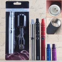 ingrosso erbe e cigs-Evod 900mah Mini AGO pennino kit di sigarette elettroniche cera vape pen Kit secco vaporizzatore a base di erbe secco di erbe e cigs e kit di avvio di sigarette