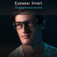 gafas de teatro privado de realidad virtual al por mayor-Lo nuevo de Smart Glasses Bluetooth 5.0 Bluetooth de control de deportes al aire libre gafas de desgaste del ojo inteligente que juegan música que conduce el coche