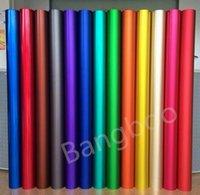 ingrosso matte auto a colori-Vendita calda PVC Car Body Decoration Vinile Grigio scuro Colore opaco satinato Chrome Car Wrapping Vinile Roll