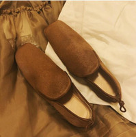 Wholesale british style flat shoe women for sale - Group buy British Style New Hot Single Shoes Flats Genuine Leather Square toe Loafers Boats Woman