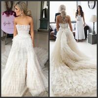 бальное платье свадебное платье tiered оптовых-