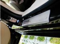 plaques de porte en acier inoxydable achat en gros de-Seuils de porte en acier inoxydable 4pcs de haute qualité, plaque de protection, plaque de protection, seuil de porte, barre de protection pour Chrysler Sebring
