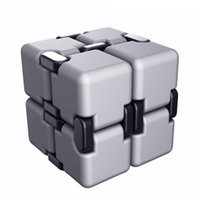 Wholesale cube neo resale online - Infinite For Cube Fidget Cube Anti stress Cuby Neo Spiner Finger Spinners Hand Out Door Magic Toy Cubo Magico Novelty Decompression Toys