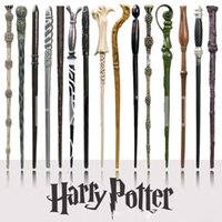 Wholesale harry potter wands toys resale online - Harry Potter Magic Wand with Ollivanders Wand Box Roles Hermione Voldermort Magic Wands Halloween Cosplay Novelty Toy