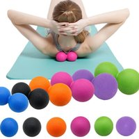 ingrosso palla per il fitness-New Fashion Portable Home Massage Fitness Palline singole Palline da allenamento Fashion New Massage Balls da allenamento
