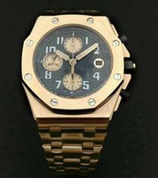 Wholesale flyback chronograph watch online - Mens luxury Superlative Chronograph Flyback ETA Automatic Movement bph Mens Watch K Rose Gold sapphire crystal Watches