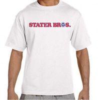 рыночная мода оптовых-STATER BROS рынки продуктовый магазин футболка мужская 2018 модный бренд футболка О-образным вырезом 100% хлопок футболки топы тройник пользовательские окружающей среды