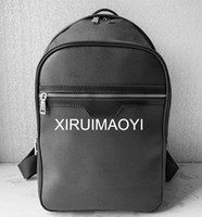 marcas de sacos mens venda por atacado-Europa Designer Marca N41612 Damier Cobal Mens Mochilas de Alta Qualidade saco de Escola