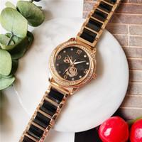 relogios roscados venda por atacado-Zeland topo relógio de quartzo das mulheres, senhoras de luxo, diamantes multi-threaded, moda feminina desgaste preferido, O