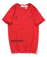 ingrosso magliette vintage in cotone-Moda Uomo Donna T-shirt in cotone Lettera Maglietta stampata Casual Top Hip Hop Tees Vintage Shirt Donna Abbigliamento Donna