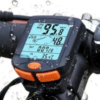 Wholesale display cycling bicycle resale online - Electronic Speedometer Four Screen Display Trainers With Luminous Road Cycling Bicycle Accessories For Mountain Bike