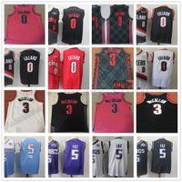 Wholesale cj jersey resale online - 2019 City New Edition Portland Damian Lillard Jersey Red Black CJ McCollum Jersey De Aaron Marvin Fox Basketball Jerseys