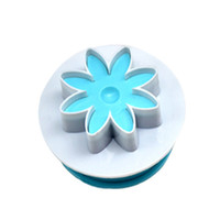 Wholesale silicone embossing mold fondant resale online - DIY Handmade Embossing Biscuit Mold Fondant Cake Spring Mold Kitchen Baking Tool