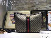 shouler handtaschen groihandel-klassische Farben brwon Brief Frauenhandtasche Mann Leder shouler Beutel M41465 25-19-9