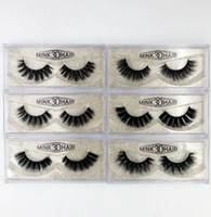 Wholesale mink hair false eyelashes for sale - Group buy 3D Mink False Lashes Long Thick Natural Mink Lashes Handmade False Eyelash Eye Makeup Tools styles RRA1037