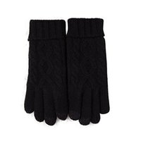 Wholesale knit thick wool mittens resale online - New Arrival Womens Winter Warm Cozy Wool Knit Thick Fleece Lined Gloves Mittens handschuhe damen E30