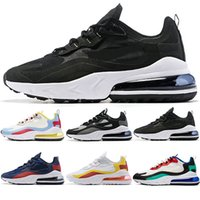 Wholesale tennis shoes free shipping for sale - Group buy 2019 React Men Women Running Shoes Bauhaus Optical Oreo Triple Black White Designer Mens Trainers Sports Sneaker Size