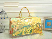 köpüklü çanta toptan satış-Tasarımcı çanta çantalar kadın bavul tasarımcı lüks temizle mesaj çantası köpüklü sözleşmeli ABD tarzı moda çanta