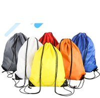 Wholesale outdoor sports hunting clothing resale online - outdoor sports travel storage shoulder bags fasjion design Drawstring Duffle Bag beach toy pouches yoga fitness shoes clothes backpacks