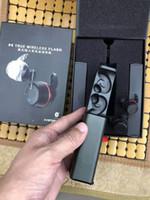yanıp sönen kulaklıklar toptan satış-Marka Kulaklıklar UA DOĞRU Kablosuz Flaş TWS Kablosuz Kulaklık Şarj Kutusu Ile Bluetooth kulaklıklar Gerçek Stereo Damla nakliye