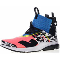 Wholesale fabric for sale - 2019 ACRONYM X Presto Mid V2 Men Running Shoes Racer Pink Cool Grey Darts Street Designer Sneakers Camouflage Graffiti Shoes