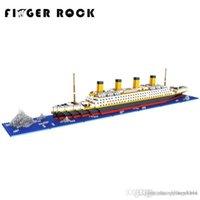 baustein freunde großhandel-Wholesale-Titanic Blocks Diamond Bausteine DIY Assemblage Modell Mini Bricks romantisches Geschenk Geschenk für Freund und Familie