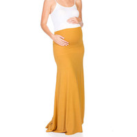 Wholesale korean maternity clothes for sale - Group buy Summer Womens Maternity Skirt Long Korean High Waisted Nursing Breastfeeding Pregnancy Clothes Umstandsmode Haut Grossesse a26