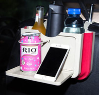Wholesale car cup holder phone resale online - Universal Cup Holder Auto Car Truck Water Mount Drink Bottle Stand Phone Glove Box New Car Interior Organizer Styling