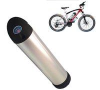 iyon stokları toptan satış-48 V Şişe Pil 48 V 18Ah Lityum İyon Piller Paketi su şişesi elektrikli bisiklet için pil ile çin'de stok