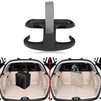 gancho de plastico para coche al por mayor-Car Auto Cargo Tronco Bolsa Gancho Percha Organizador Titular De Plástico Para VW Jetta Volkswagen Negro Moda EEA215