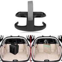 ingrosso gancio in plastica per auto-Car Organizer Car Bag Trunk Bag Hook Hanger Organizer Holder Plastica per VW Jetta Volkswagen Black Fashion EEA215