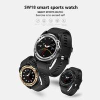 kamera kadranları toptan satış-SW18 Akıllı İzle Bluetooth Smartwatch Destek SIM Kart Kamera Pedometre Spor Izci IOS ve Android Akıllı İzle SMS Dial