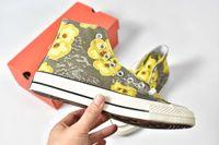 encaje verde pálido al por mayor-2019 New Arrive 70 PARKWAY FLORAL Zapatos de moda de mujer para hombre Zapatos de lona de color verde pálido Muchos colores con cordones Zapatos casuales TALLA 35-44