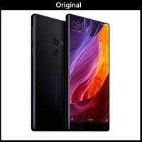 разблокированные android-смартфоны оптовых-Глобальный версия Оригинальный Xiaomi Ми смартфон смешайте 6,4 дюйма полный экран процессор Snapdragon 821 6 ГБ оперативной памяти 256 ГБ ПЗУ телефона Xiaomi 2040x1080P