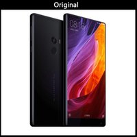 xiaomi phone оптовых-Глобальный версия Оригинальный Xiaomi Ми смартфон смешайте 6,4 дюйма полный экран процессор Snapdragon 821 6 ГБ оперативной памяти 256 ГБ ПЗУ телефона Xiaomi 2040x1080P