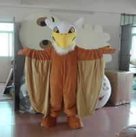 Wholesale big bird dress for sale - Group buy Latest high quality Adult cartoon lovely brown big bird mascot costume fancy dress party adult size Holiday special clothing