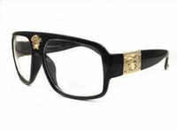 marco floral gafas de sol mujeres al por mayor-Super Big Frame gafas de sol polarizadas para hombres Clásico Tendencia Estrellas Usar gafas de sol Gafas de gafas de sol de marco grande para mujeres
