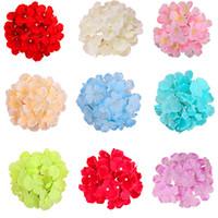 tallos de flores artificiales al por mayor-hortensias cabeza 50 piezas 6